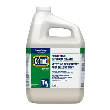 Comet Disinfecting Bathroom Cleaner 3.78 L, 3 Packs/Case