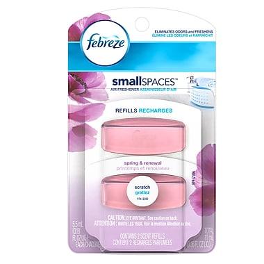 Febreze – Recharges de désodorisant Set & Refresh au parfum de printemps, 11 ml, 8 paquets/boîte