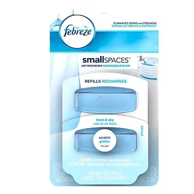 Febreze – Recharges de désodorisant Set & Refresh au parfum de linge frais, 11 ml, 8 paquets/boîte