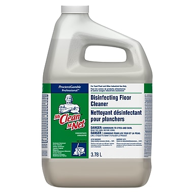 Mr. Clean Disinfectant Floor Cleaner 3.78L, 4 Packs/Case