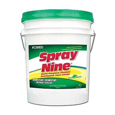 Spray Nine All Purpose Cleaner 20l Pail, Each
