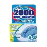 2000 Flushes – Nettoyant automatique pour toilettes, bleu plus javellisant, 12/paquet