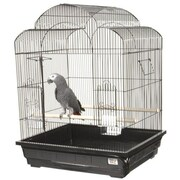 A&E Cage Co. Victorian Small  Bird Cage; Pure White