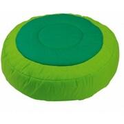 Wesco NA Cocoon Kids Floor Cushion Cover; Light Green / Dark Green