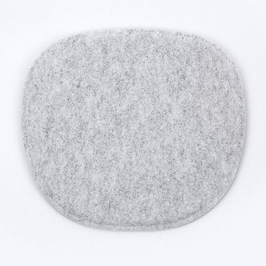 Kubikoff Dining Chair Cushion; Silver
