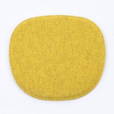 Kubikoff Dining Chair Cushion; Yellow