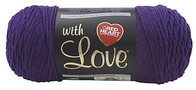 Red Heart With Love Yarn, Violet
