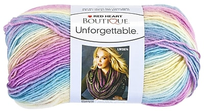 Red Heart Boutique Unforgettable Yarn, Candied