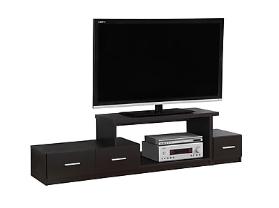 Monarch Specialties TV Stand Cappuccino (I 2670)