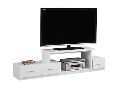 Monarch Specialties TV Stand White (I 2672)