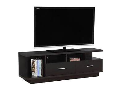 Monarch Specialties TV Stand Cappuccino (I 2674)