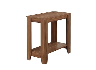 Monarch Specialties Wood Accent Table, Walnut, Each (I 3116)