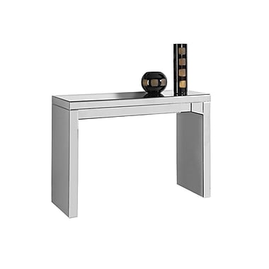 Monarch – Table console 3717, 42 po long., miroitante