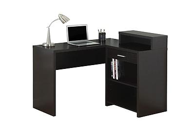 Monarch Specialties Computer Desk in Cappuccino (I 7123)
