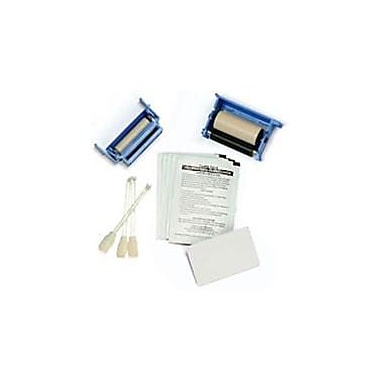 Zebracard, P210, Consumable, P210 Starter Kit, One Ribbon, One Cleaning Roller, 100 Pvc Cards