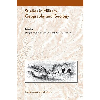 Studies In Military Geography And Geology, Used Book (9789048167937)