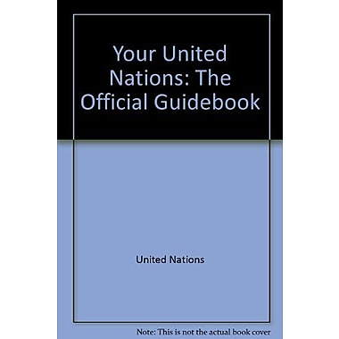 Your United Nations The Official Guidebook, New Book (9789211004052)