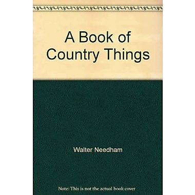 A Book Of Country Things, New Book (9785557022477)