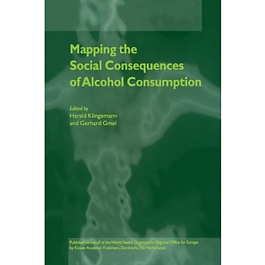 Mapping The Social Consequences Of Alcohol Consumption, New Book (9789048156269)