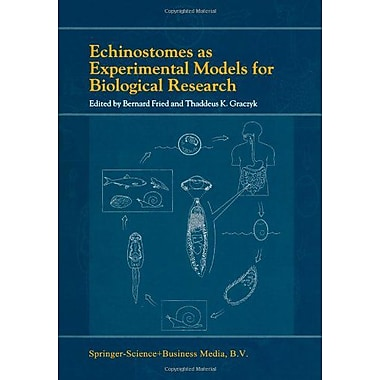 Echinostomes As Experimental Models For Biological Research, New Book (9789048153923)