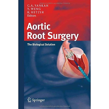 Aortic Root Surgery The Biological Solution, New Book (9783798518681)