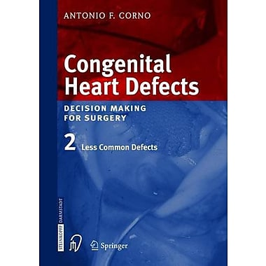 Congenital Heart Defects Decision Making For Surgery Vol 2, New Book (9783798514232)