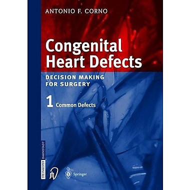 Congenital Heart Defects Decision Making For Surgery Vol 1, New Book (9783798514157)