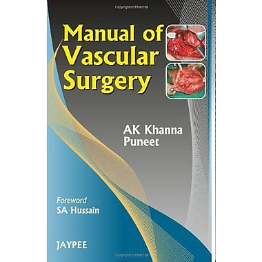 Manual Of Vascular Surgery, New Book (9788184489279)