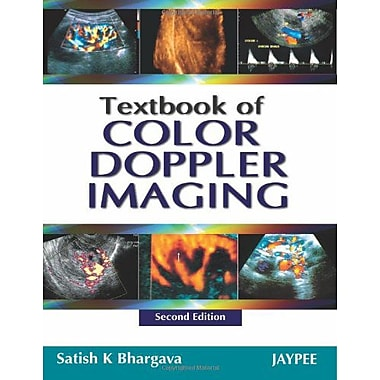 Textbook Of Color Doppler Imaging, New Book (9788184489965)