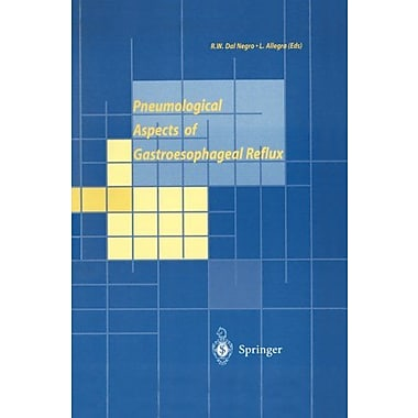 Pneumological Aspects Of Gastroesophageal Reflux, New Book (9788847000490)