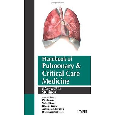 Handbook Of Pulmonary And Critical Care Medicine, New Book (9789350257074)