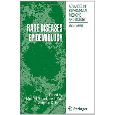 Rare Diseases Epidemiology Advances In Experimental Medicine And Biology, New Book (9789048194841)