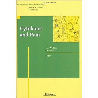 Cytokines And Pain Progress In Inflammation Research, New Book (9783764358495)