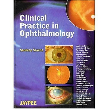 Clinical Practice In Ophthalmology, New Book (9788180611353)