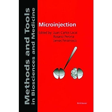 Microinjection, New Book (9783764360191)
