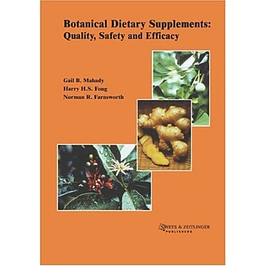 Botanical Dietary Supplements, New Book (9789026518553)