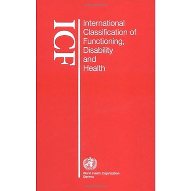 International Classification Of Functioning Disability And Health, New Book (9789241545426)