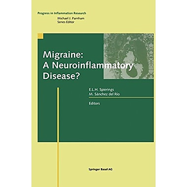 Migraine A Neuroinflammatory Disease? Progress In Inflammation Research, New Book (9783764362317)