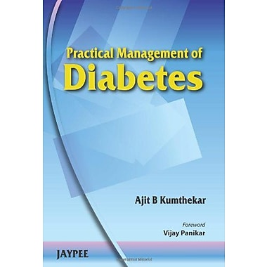 Practical Management Of Diabetes, New Book (9788184489781)