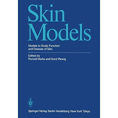 Skin Models Models To Study Function And Disease Of Skin, New Book (9783642703898)