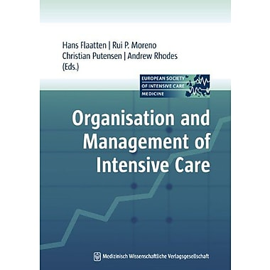 Organisation And Management Of Intensive Care, New Book (9783941468276)