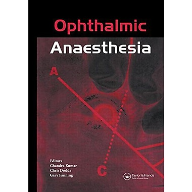 Ophthalmic Anaesthesia, New Book (9789026519284)