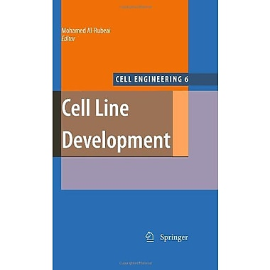 Cell Line Development Cell Engineering, New Book (9789048122448)