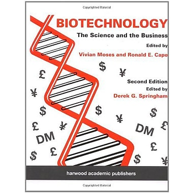 Biotechnology The Science And The Business, New Book (9789057024061)
