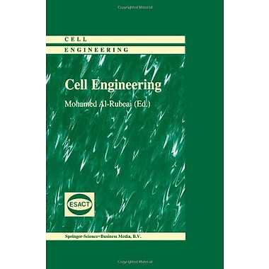 Cell Engineering, New Book (9789048152544)