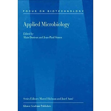 Applied Microbiology Focus On Biotechnology Volume 2, New Book (9789048156696)