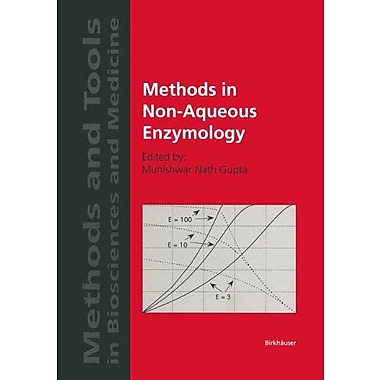 Methods In Non-Aqueous Enzymology Methods And Tools In Biosciences And Medicine, New Book (9783764358037)