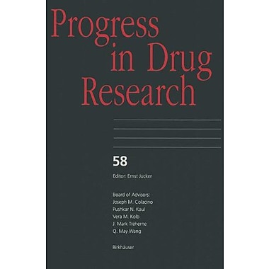 Progress In Drug Research V 58, New Book (9783764366247)