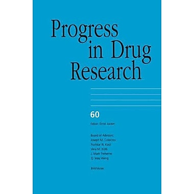 Progress In Drug Research, New Book (9783764369873)