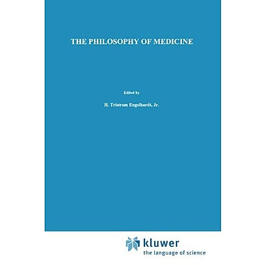The Philosophy Of Medicine Framing The Field Philosophy And Medicine, New Book (9789048154197)